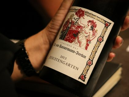 Cata de vinos alemanes II